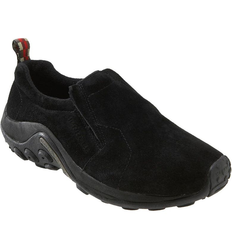 MERRELL 'Jungle Moc' Athletic Slip-On, Main, color, Black