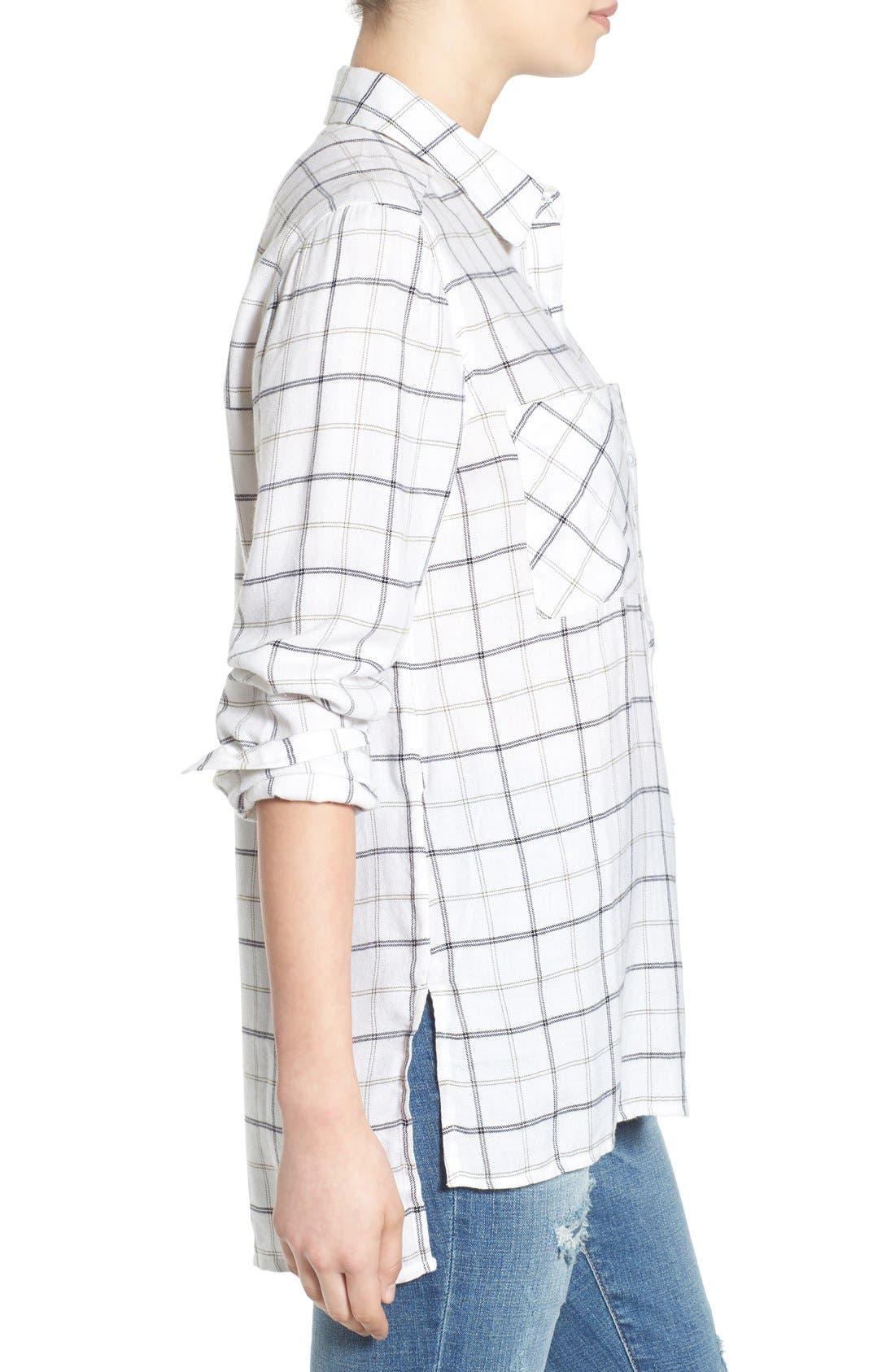 ,                             Plaid Tunic Shirt,                             Alternate thumbnail 15, color,                             100