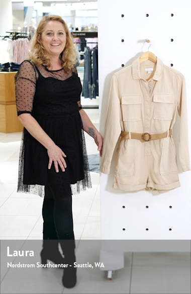Belted Utility Romper, sales video thumbnail