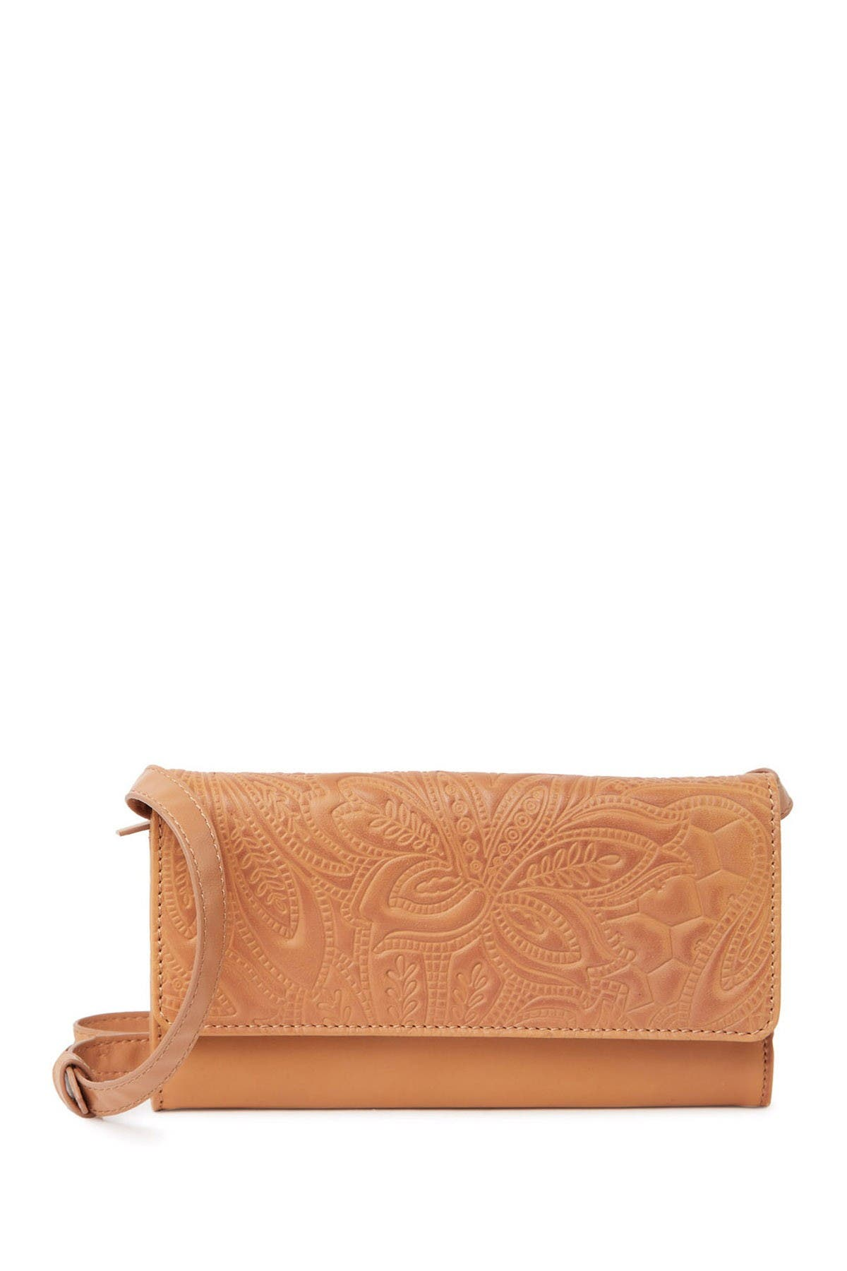 Image of Lucky Brand Lina Embossed Convertible Wallet