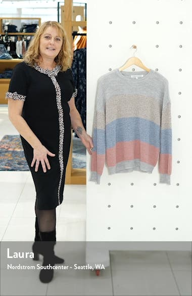 Elaine Stripe Pullover, sales video thumbnail