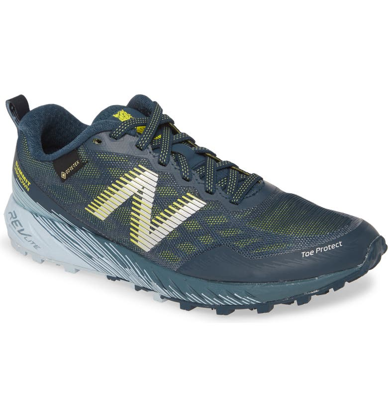 NEW BALANCE Summit Unknown Gore-Tex<sup>®</sup> Waterproof Trail Running Shoe, Main, color, BLUE