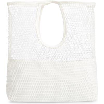 Malibu Skye Netted Tote - White