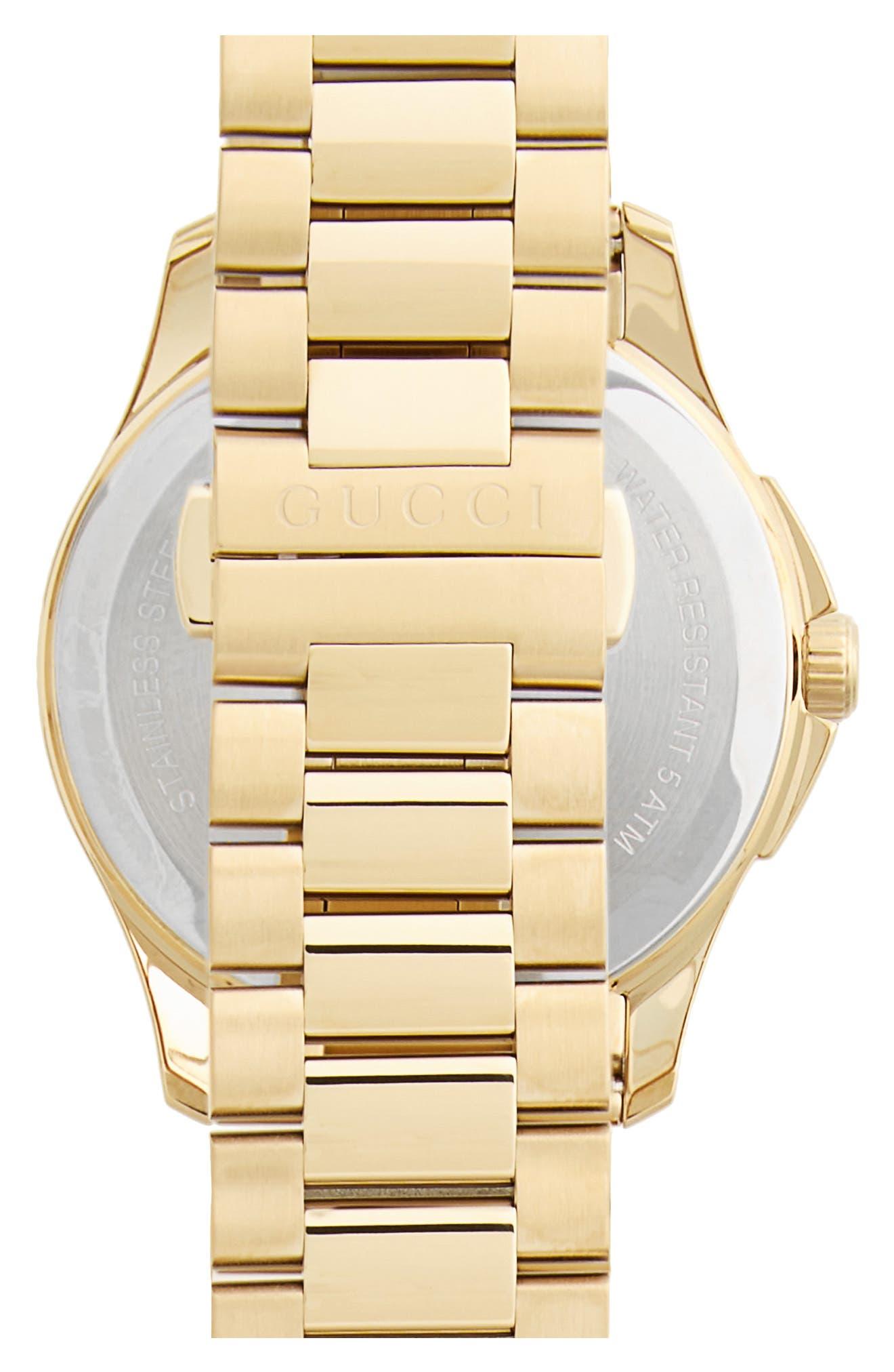 ,                             Round Bracelet Watch, 38mm,                             Alternate thumbnail 2, color,                             GOLD