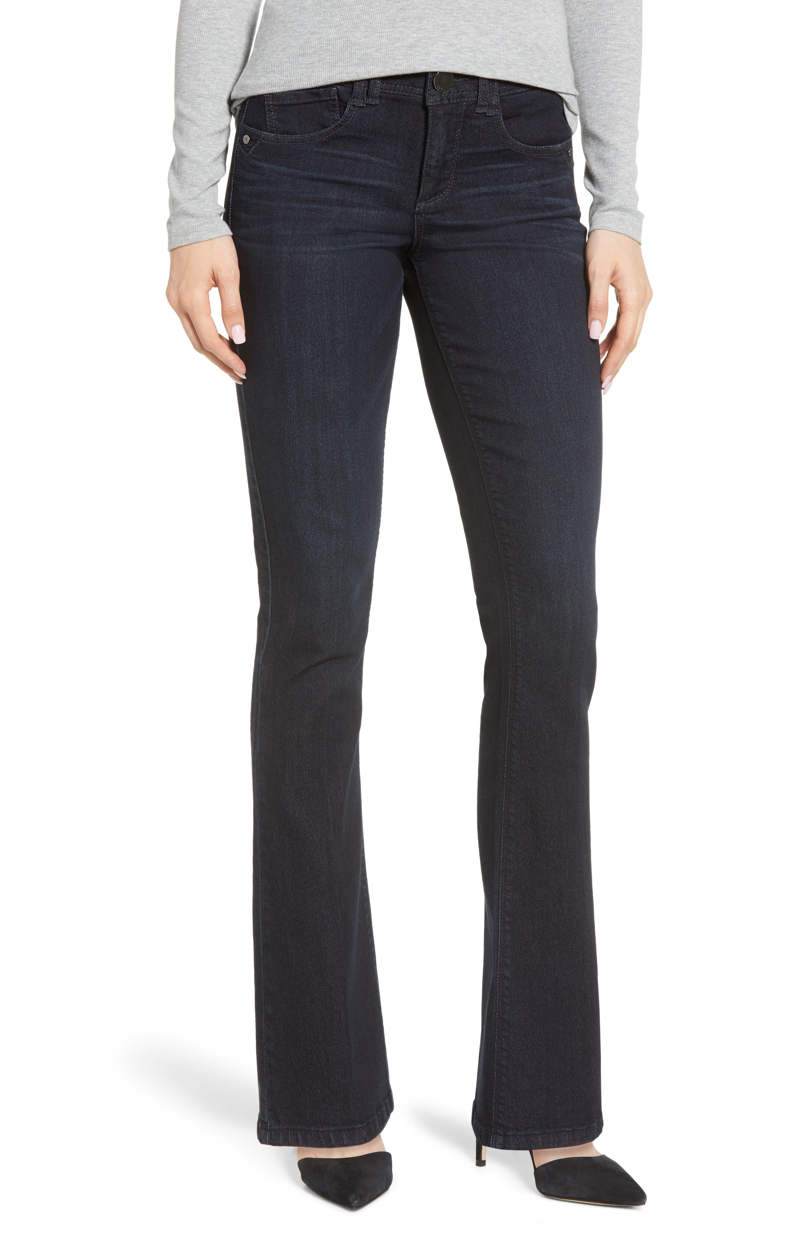 Wit & Wisdom Ab-solution Itty Bitty Bootcut Jeans (Regular & Petite) (Nordstrom Exclusive)