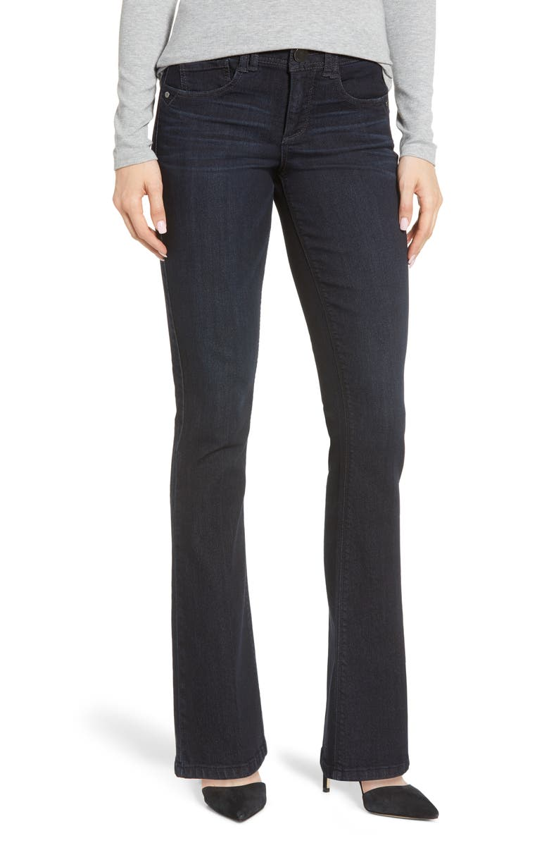 WIT & WISDOM Ab-solution Itty Bitty Bootcut Jeans, Main, color, IN- INDIGO