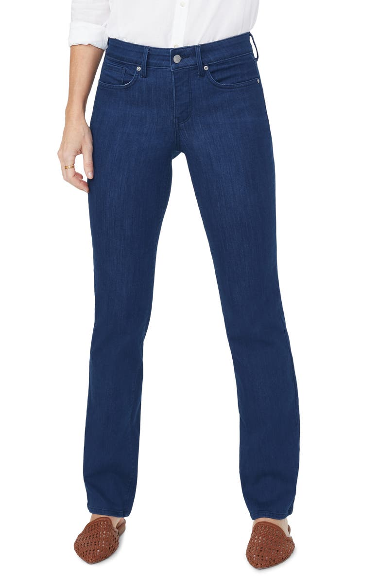 NYDJ Marilyn Straight Leg Jeans, Main, color, KANAN