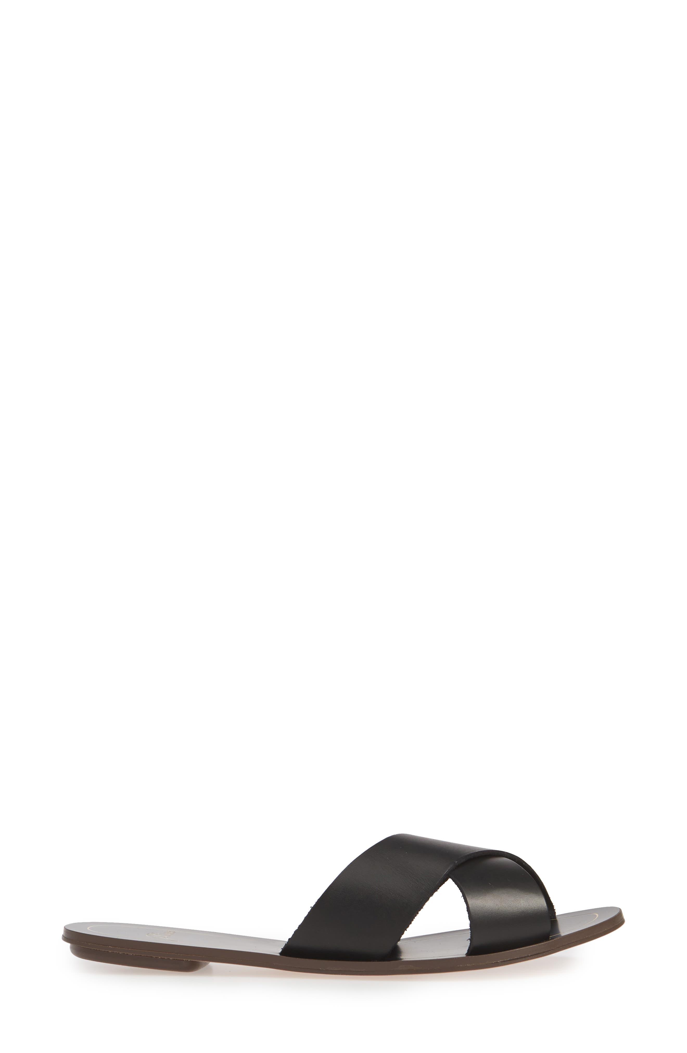 ,                             Cyprus Slide Sandal,                             Alternate thumbnail 3, color,                             BLACK