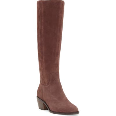 Lucky Brand Iscah Knee High Boot, Purple