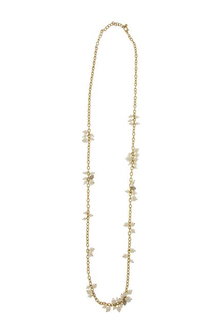 Image of Saachi Cluster Party Faux Pearl Necklace