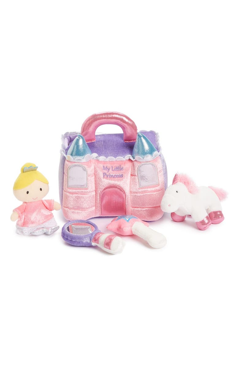 GUND Baby Gund 'Princess Castle' Play Set, Main, color, PINK