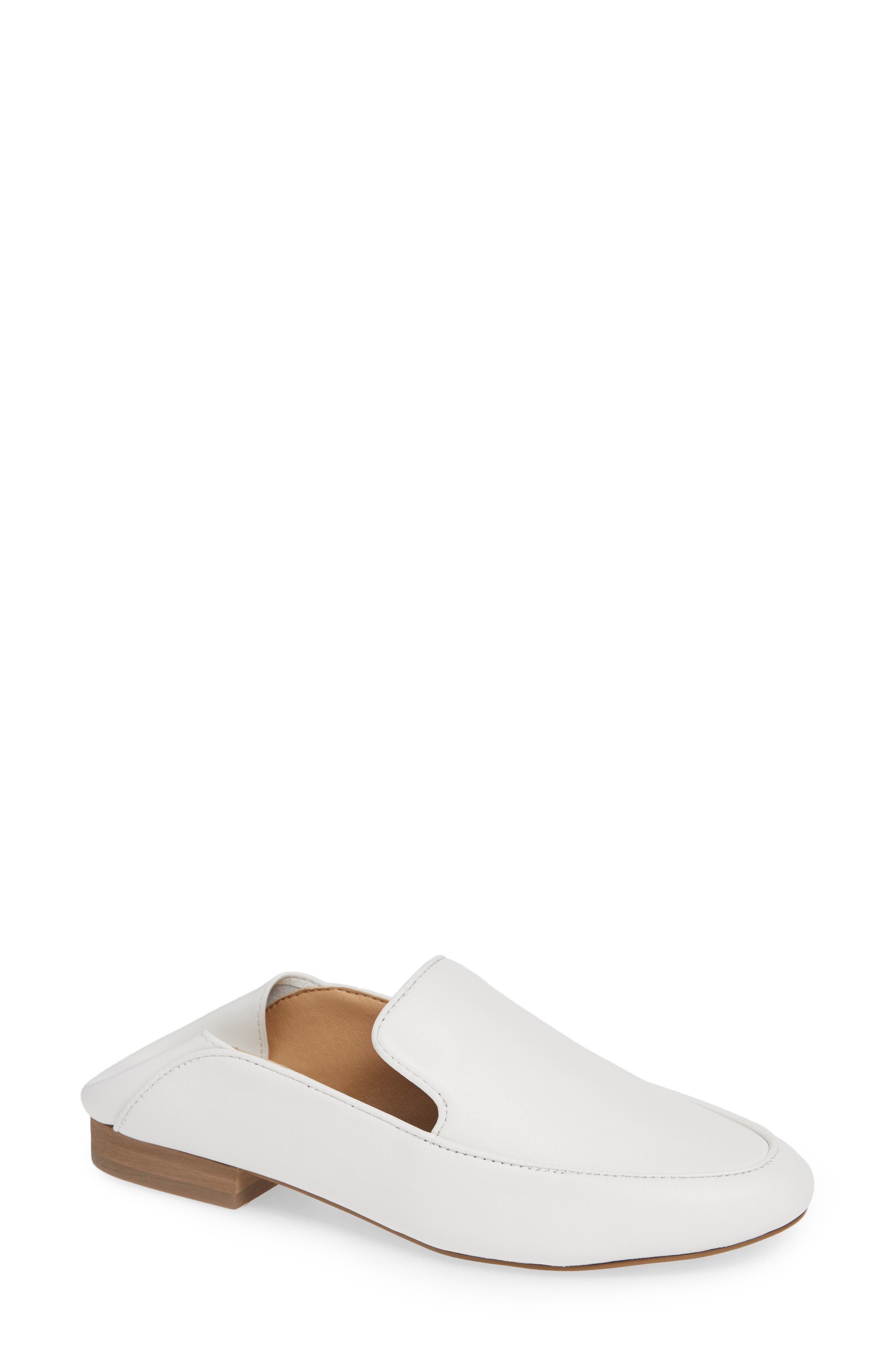 Riley Convertible Loafer, Main, color, WHITE LEATHER