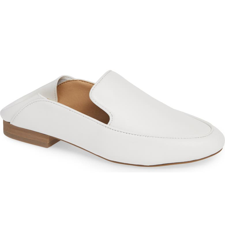 NIC+ZOE Riley Convertible Loafer, Main, color, WHITE LEATHER