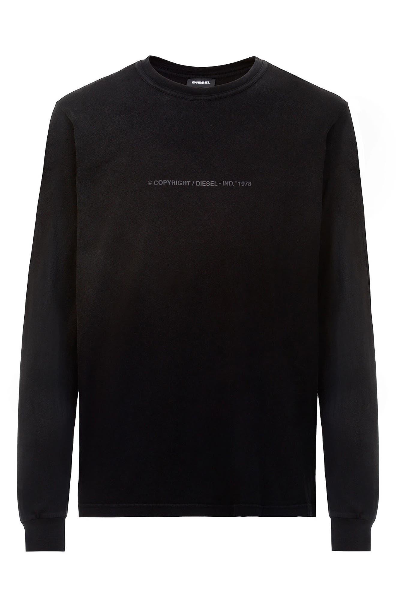 Men's Diesel T-Jubind Long Sleeve T-Shirt