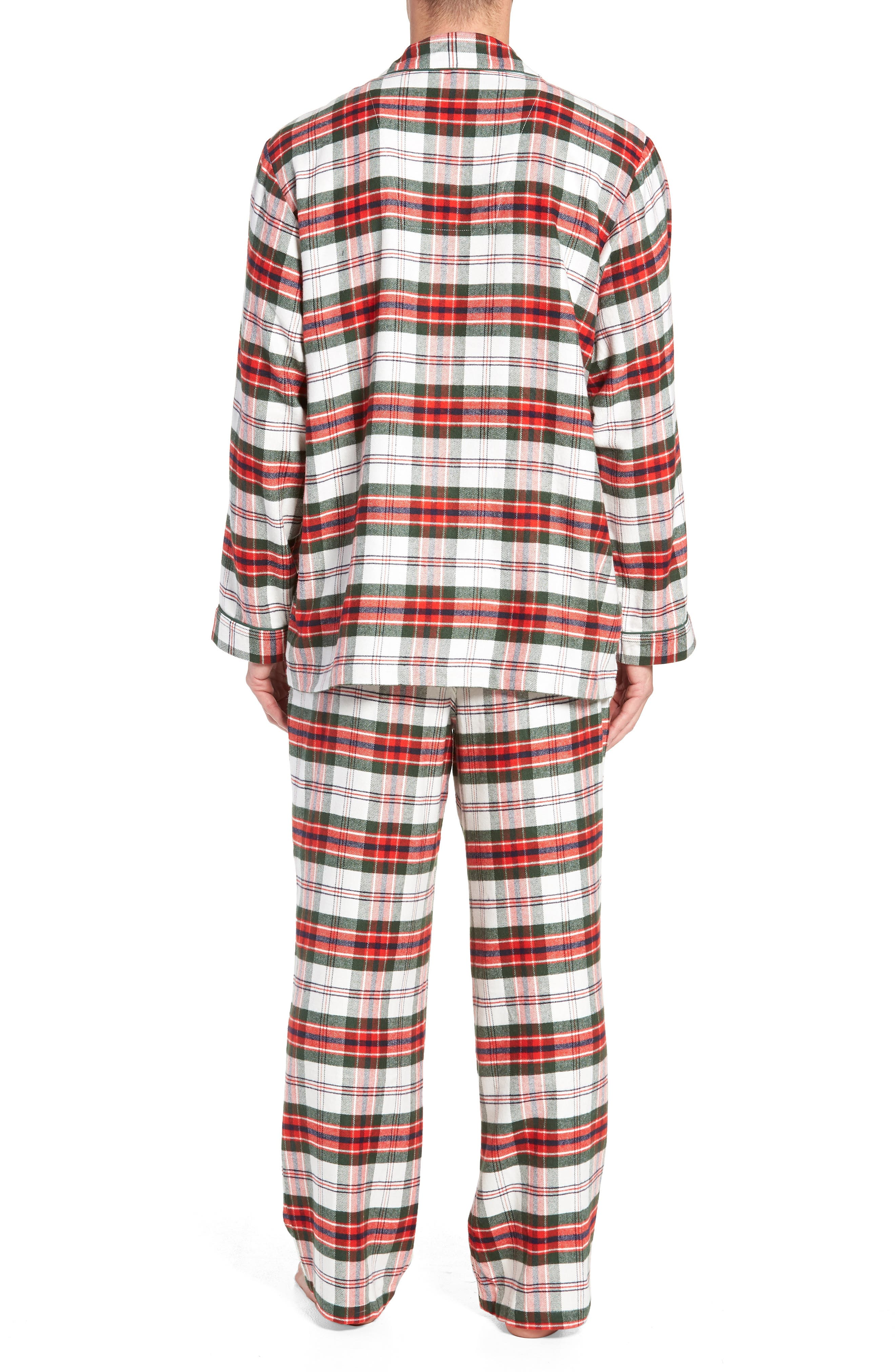 ,                             Family Father Flannel Pajamas,                             Alternate thumbnail 15, color,                             900