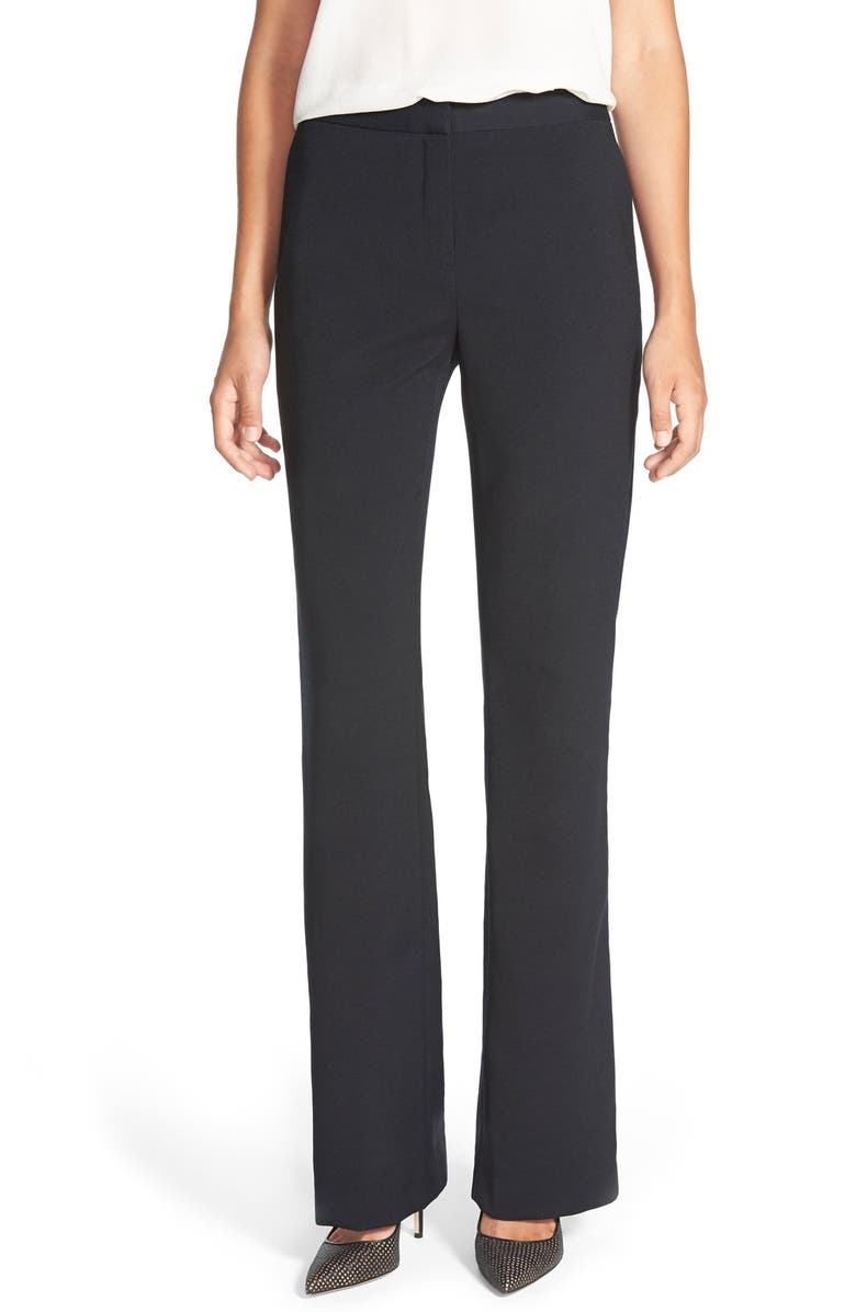 TROUVÉ Flare Leg Pants, Main, color, 001