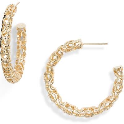 Kendra Scott Maggie Medium Hoop Earrings