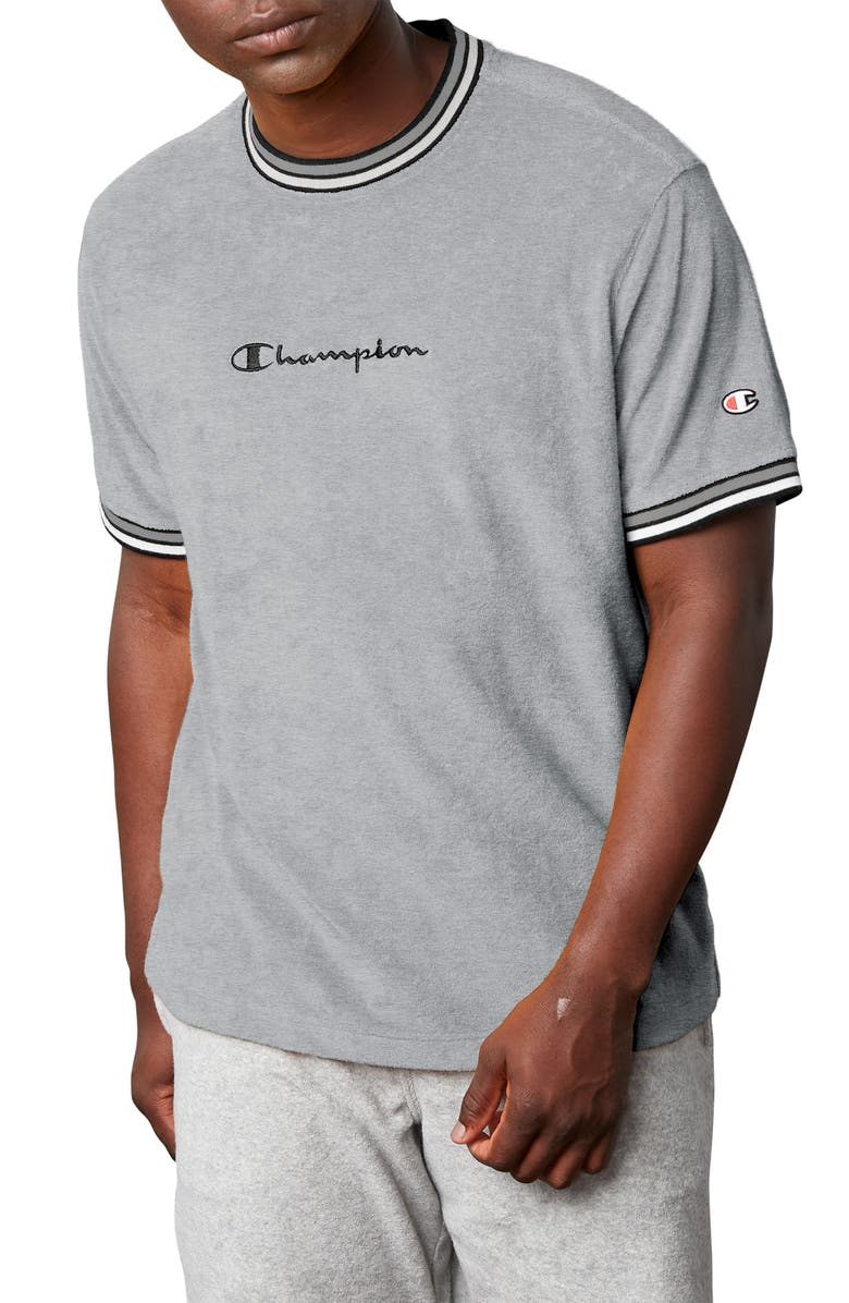 Terry Knit T Shirt by Champion