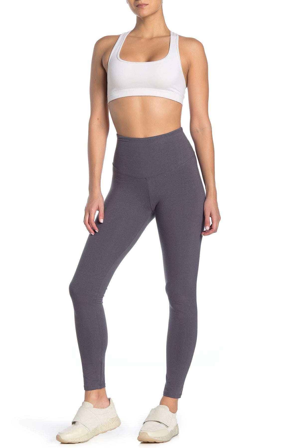 Image of Yummie by Heather Thomson Compact Cotton Shaping Leggings