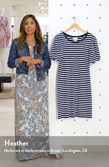 Bubble Sleeve T-Shirt Dress, sales video thumbnail