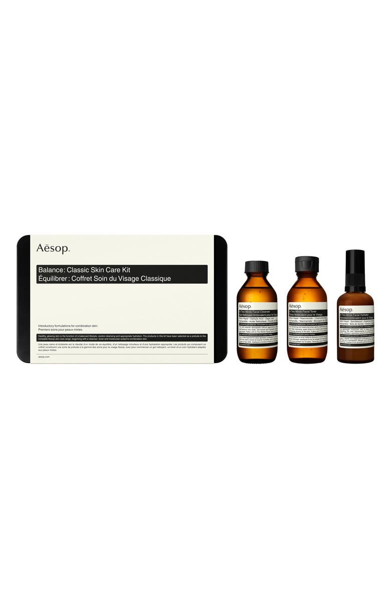 AESOP Balance Classic Skin Care Set, Main, color, NO COLOR