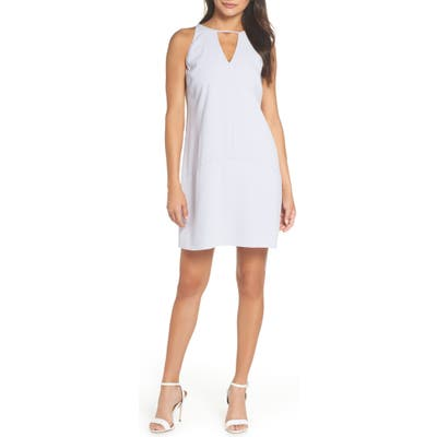 Sam Edelman Keyhole Shift Dress, Blue