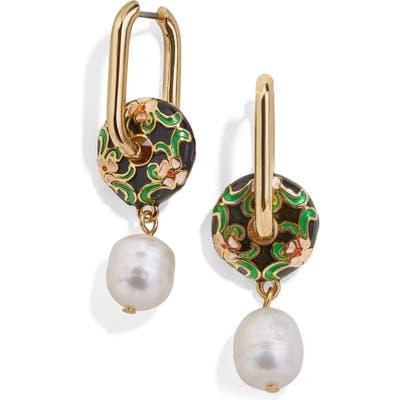 Baublebar Riva Pearl Drop Earrings