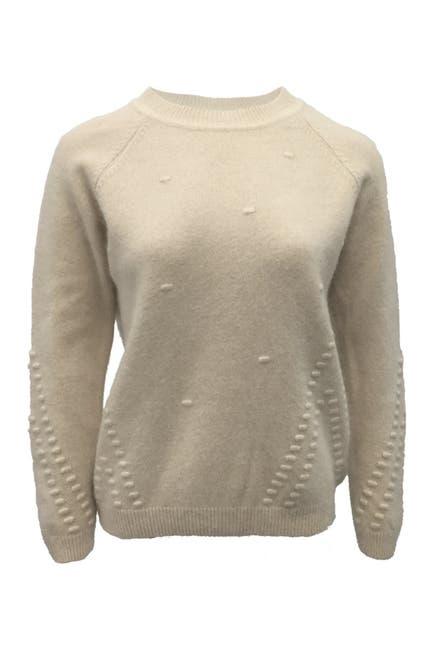Image of NANETTE nanette lepore Textured Crew Neck Sweater