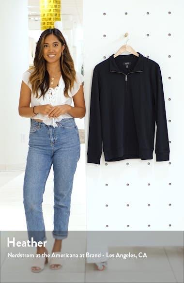 Solid Quarter Zip Pullover, sales video thumbnail