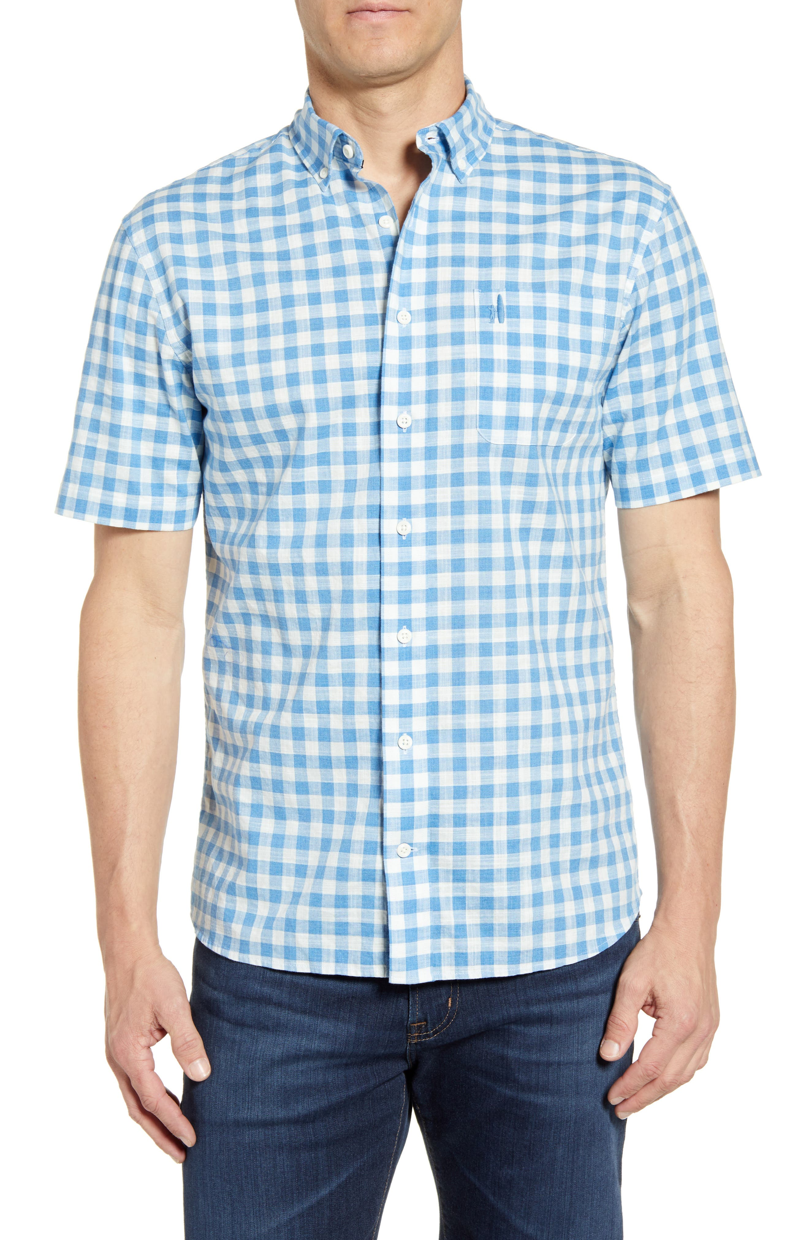 Watts Classic Fit Gingham Shirt