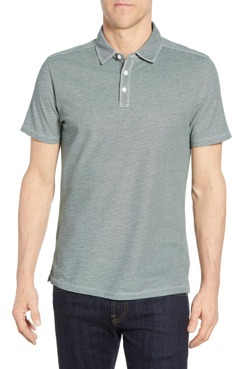 ROBERT BARAKETT Filmore Polo, Main, color, BALSAM GREEN