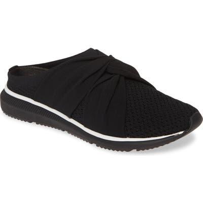 Eileen Fisher Xenia Sneaker Mule- Black