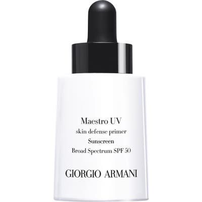 Giorgio Armani Maestro Uv Skin Defense Primer Sunscreen Spf 50