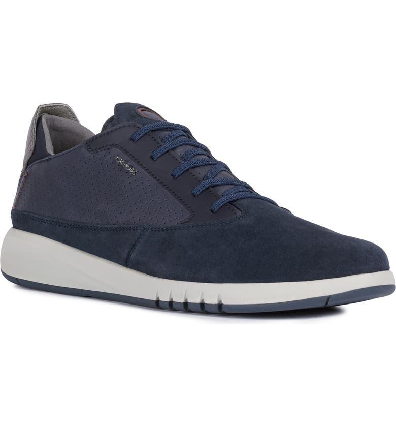 GEOX Aerantis 2 Sneaker, Main, color, NAVY/ NAVY