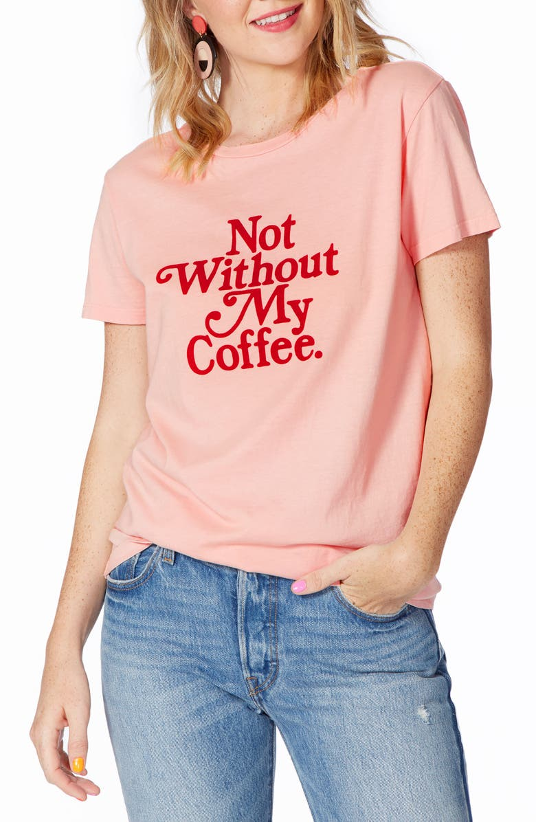 BAN.DO Not Without My Coffee Classic Tee, Main, color, 661