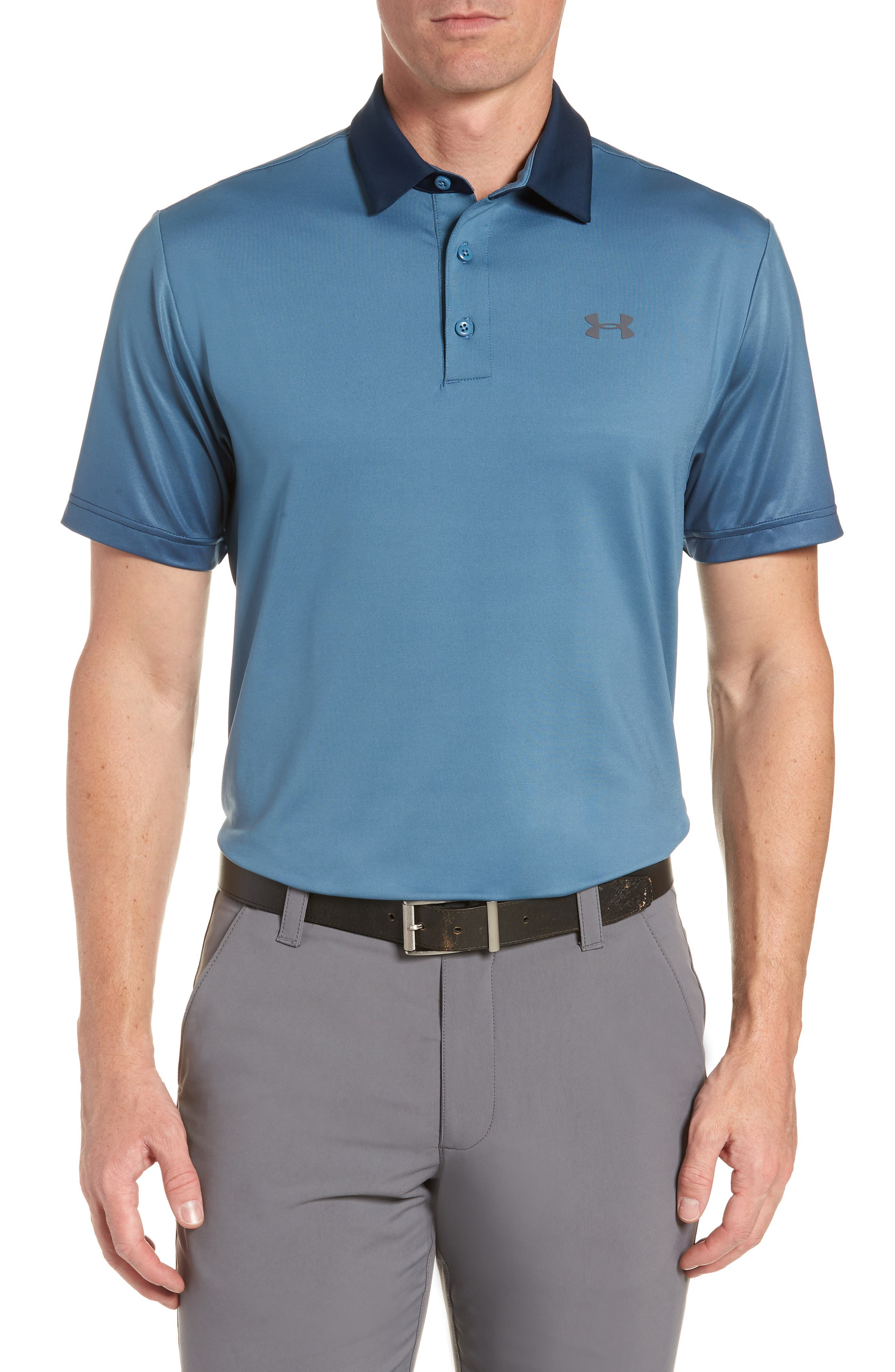 ,                             'Playoff' Loose Fit Short Sleeve Polo,                             Main thumbnail 52, color,                             400