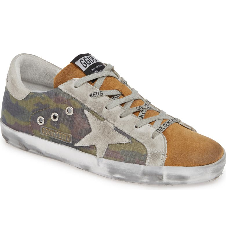 GOLDEN GOOSE Superstar Sneaker, Main, color, CAMOUFLAGE