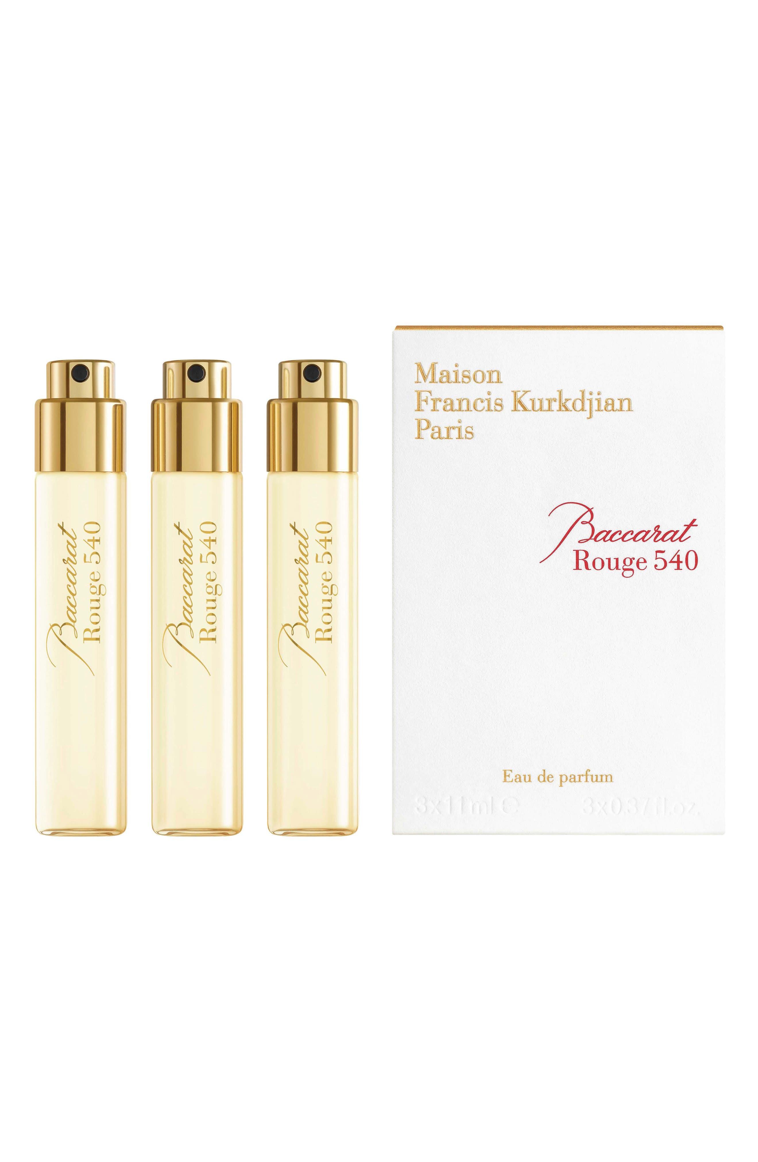 Paris Baccarat Rouge 540 Eau De Parfum Refill Trio