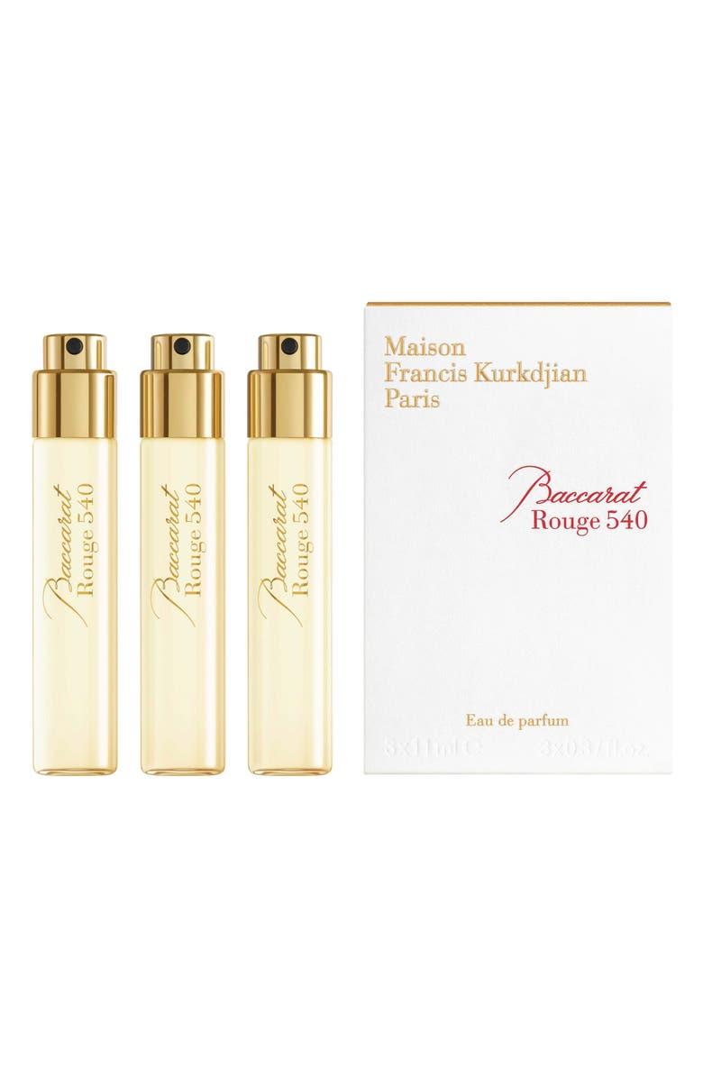 Paris Baccarat Rouge 20 Eau de Parfum Refill Trio   Nordstrom