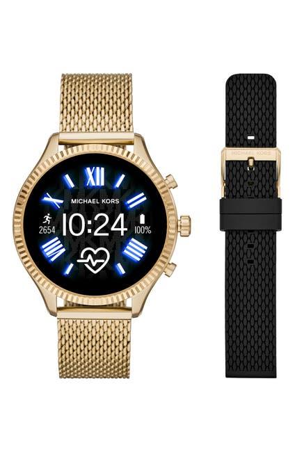 Image of Michael Kors Women's Lexington Gen 5 Lexington Smartwatch with Additional Strap Set