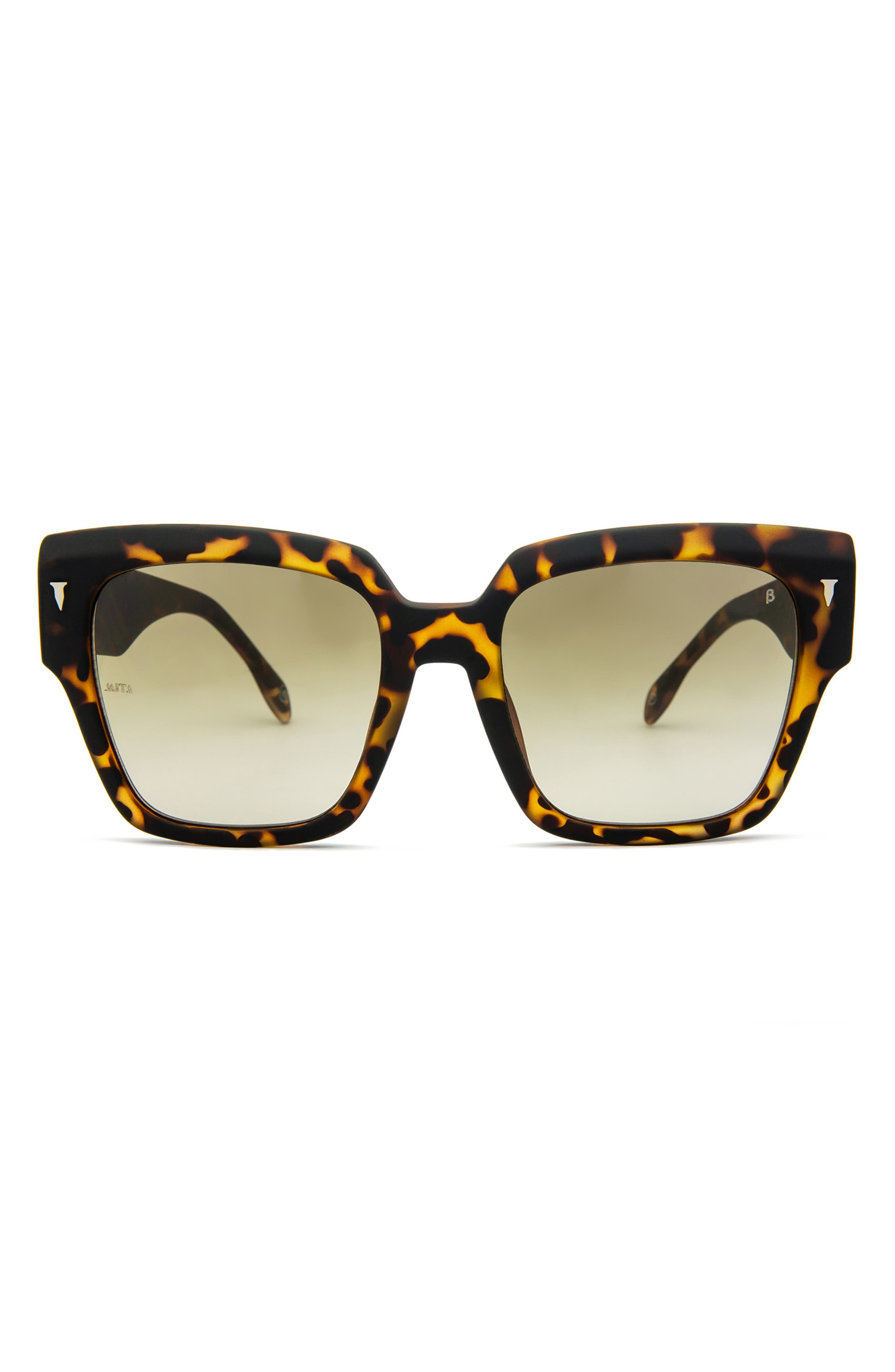 Capri 56mm Geometric Sunglasses