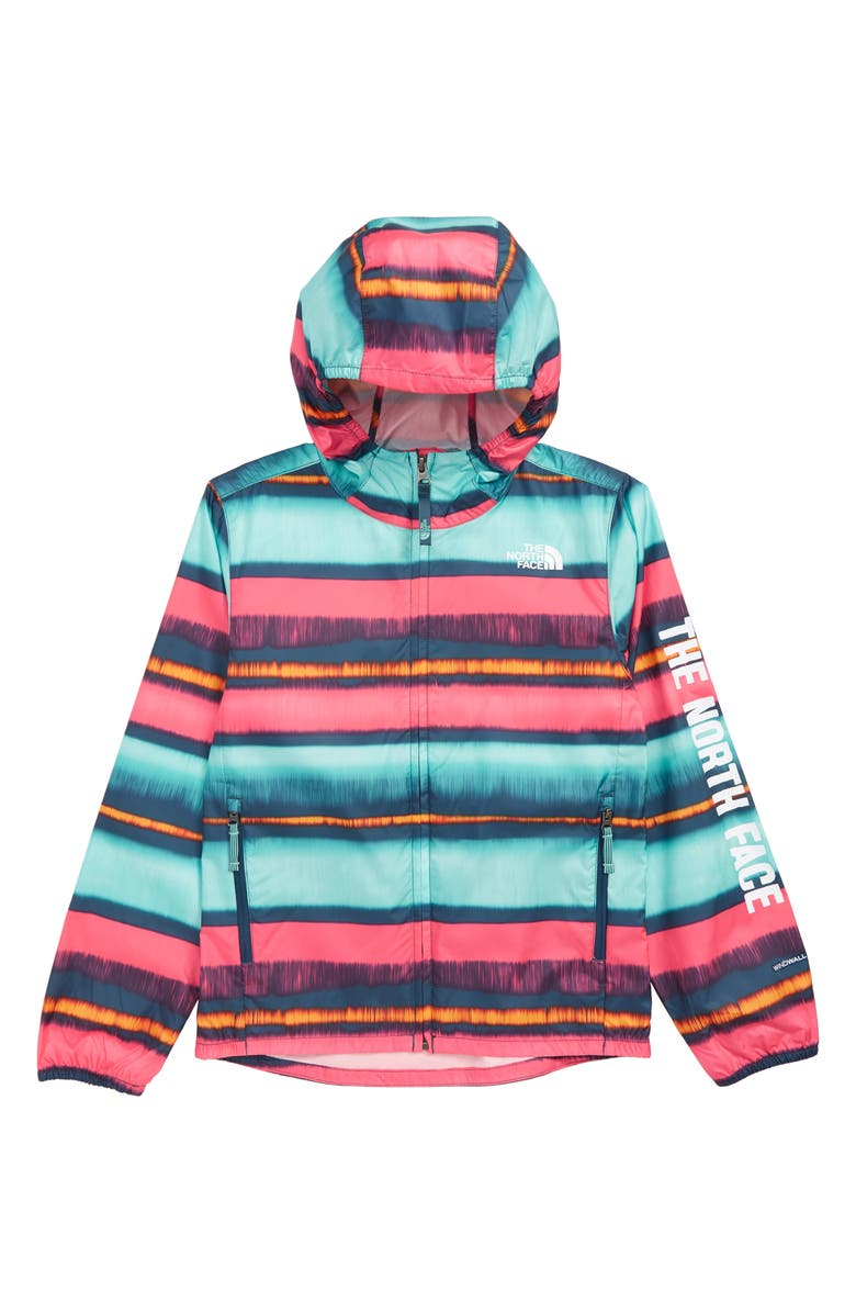 THE NORTH FACE Flurry Hooded Windbreaker, Main, color, 440