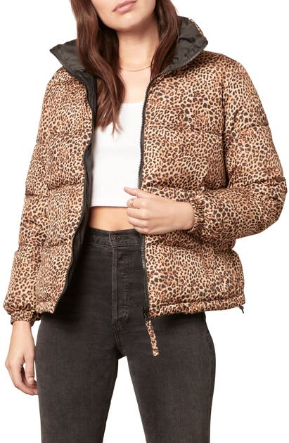 Bb Dakota COOL KITTEN REVERSIBLE PUFFER JACKET
