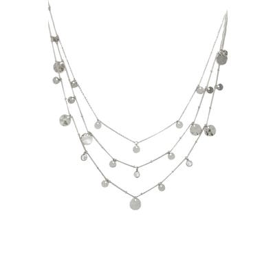 Ettika Set Of 3 Disc Necklaces