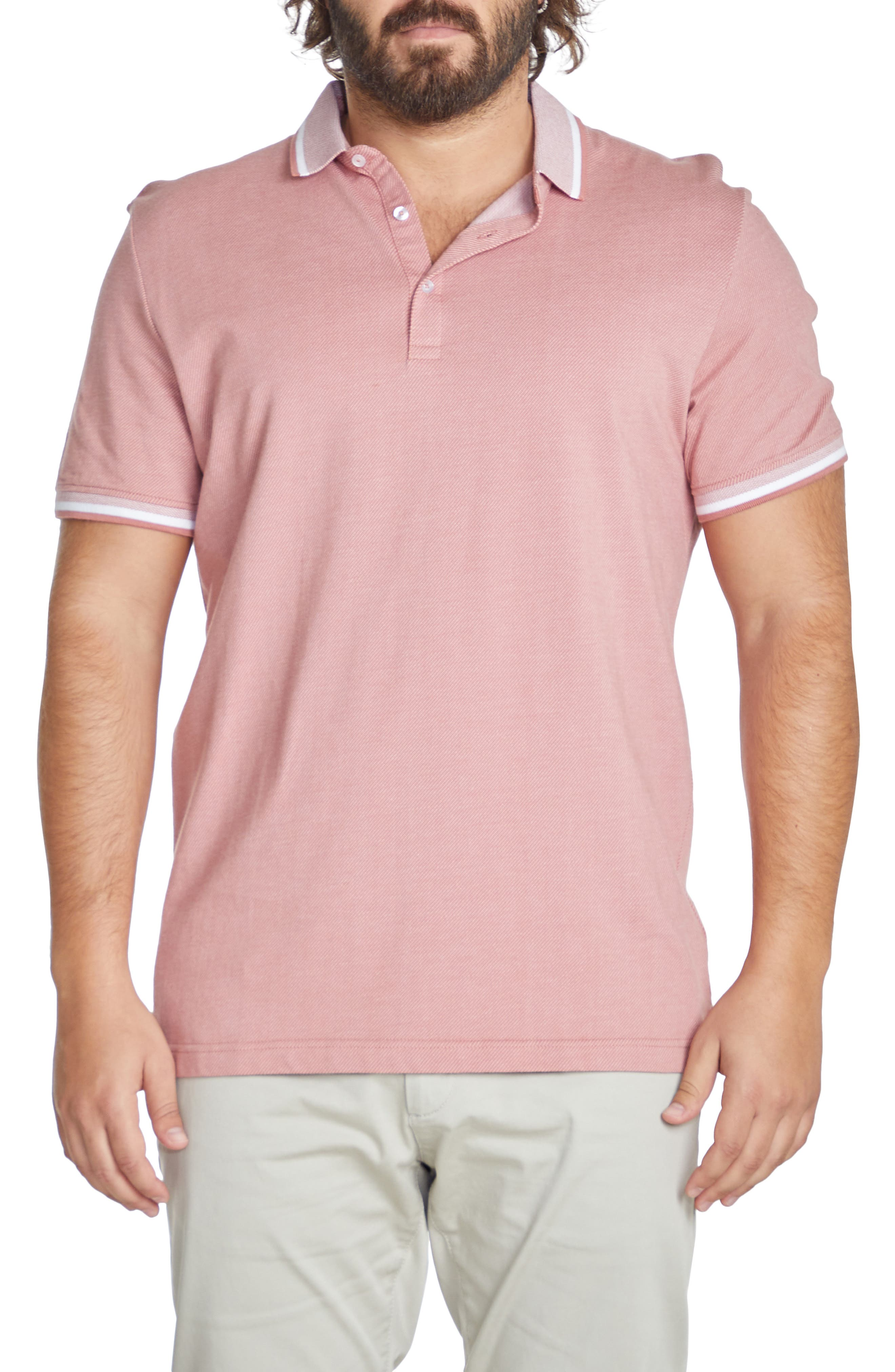Marlow Tipped Short Sleeve Polo