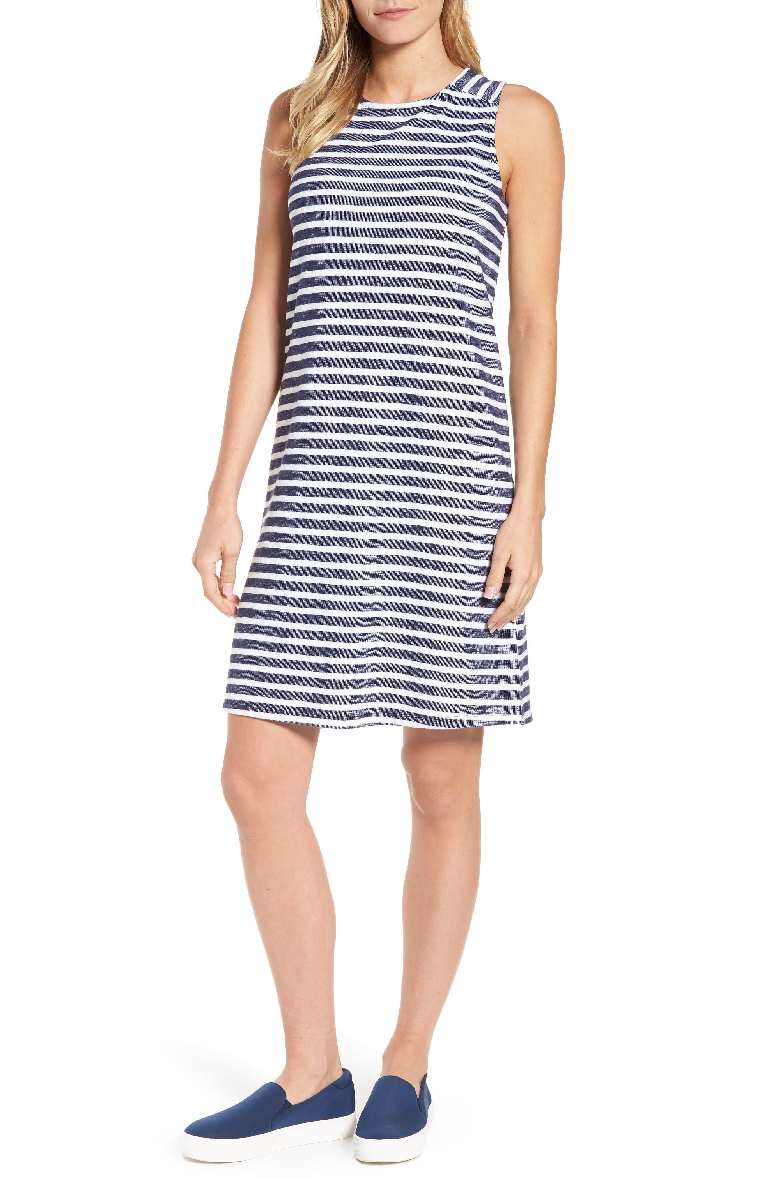 Caslon Knit Tank Dress, Blue