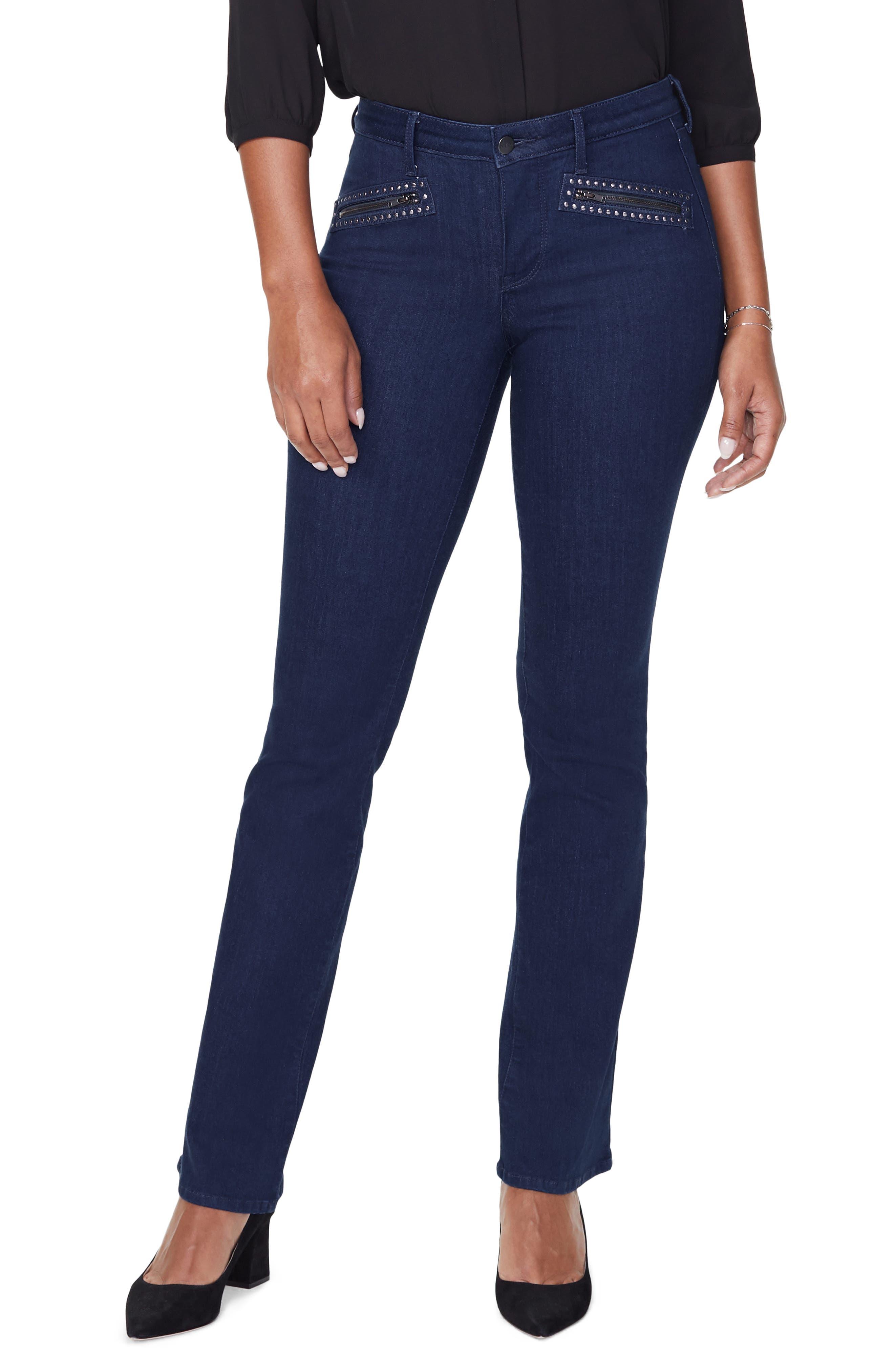NYDJ Womens Barbara Bootcut Jean Jeans