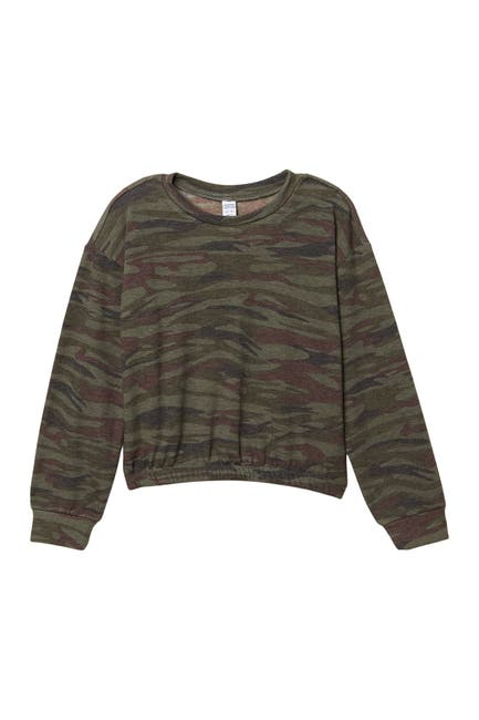 Image of Harper Canyon Pattern Fleece Long Sleeve