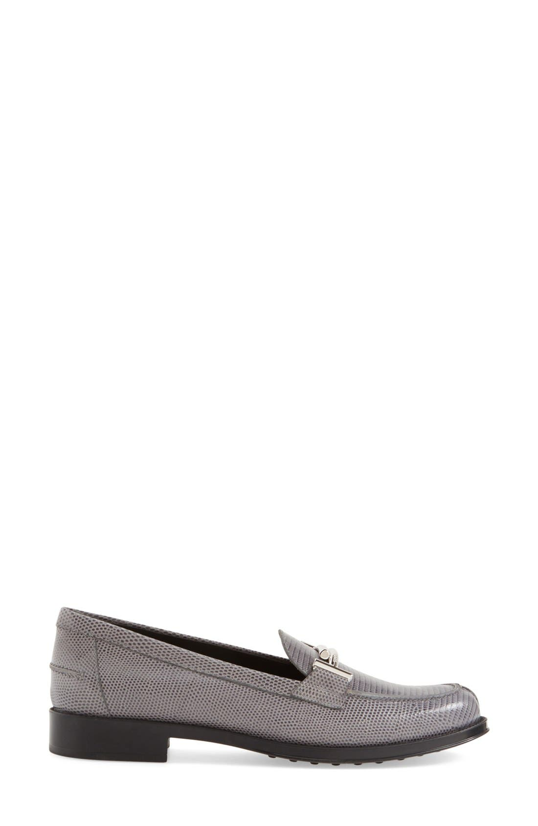 ,                             'Double T' Loafer,                             Alternate thumbnail 8, color,                             020