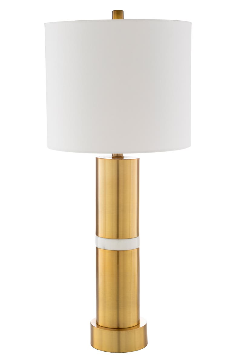 SURYA HOME Yorkshire Table Lamp, Main, color, GOLD
